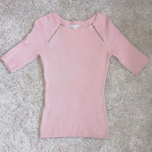 New York & Co. Pink Sweater